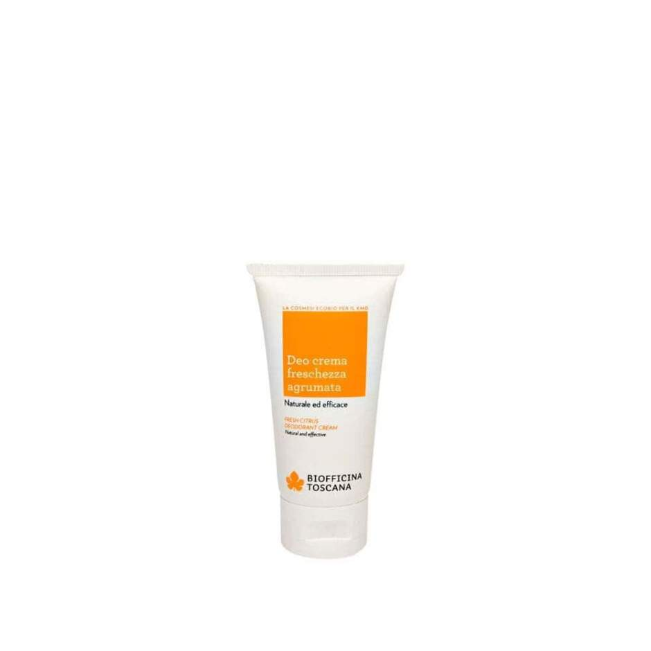 Fresh citrus deodorant cream